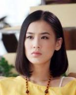 黄圣依发型 职场白领范优雅发型