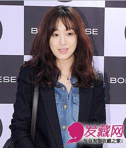 尹皮肤宋茜恩惠春季韩国最流行的发型女生女生发型拽超qq图片