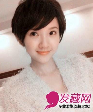 短发也依旧性感可爱的女星(2)