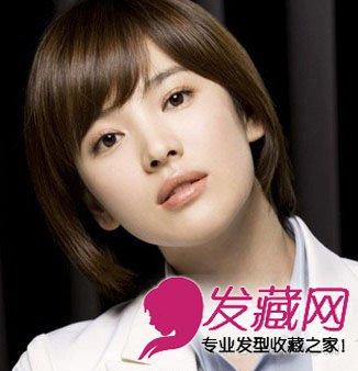 宋慧乔尹恩惠发型 春季流行的韩式短发