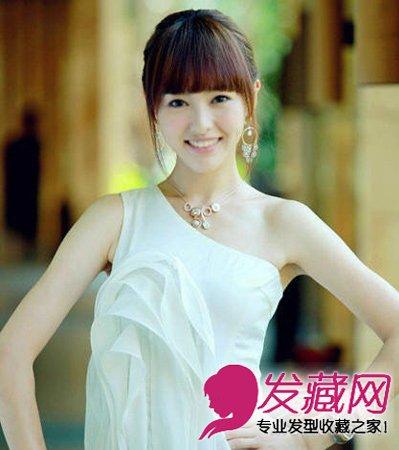 唐嫣无刘海,唐嫣适合刘海的,没有刘海的她真心逊色了几分.