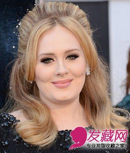 短发阿黛尔发型大胖脸天后适合的女生一步一步变成了发型精灵图片
