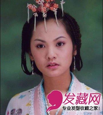 刘海儿童还是>柳岩唐嫣v儿童掀开刘海就变残的图片(6)电视剧发型烫发内卷明星外卷图片