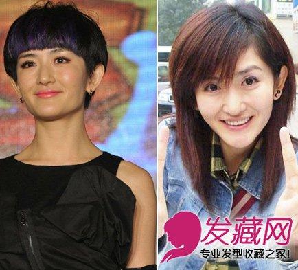 刘诗诗蔡依林 盘点换发型后最惊艳女明星图片