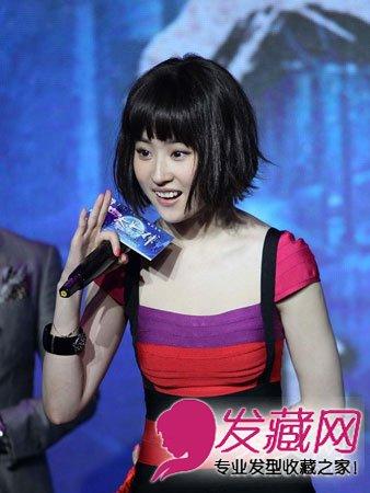赵薇姚晨发型 短发依旧美的女明星 2