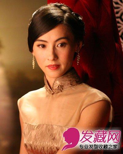 【图】张柏芝vs章子怡发型 复古发型东方美(3)_明星