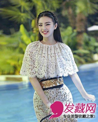《白鹿原》张雨绮时尚发型大全图片图片