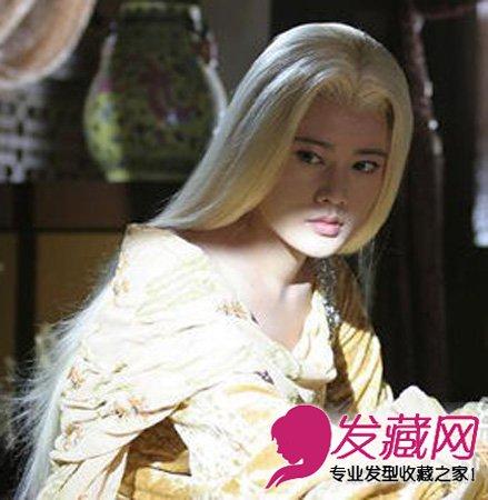 韓國白發女生頭像