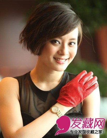 辣妈孙俪短发发型 很美很气质(8)图片图片
