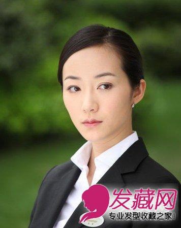 景甜白冰京城四美时尚靓丽发型pk适合秀禾装的发型图片