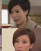 tvb女星爱撞发 三七分短发的差异风情