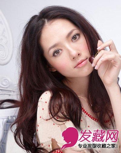 郭碧婷减龄发型图片 马尾麻花辫宅男最喜欢图片