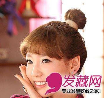 韩国少女时代泰妍可爱女生发型秀