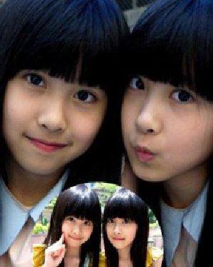 台湾双胞胎姐妹花 长直生长现女神范