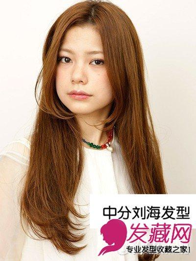中分v发型发型图片心机烫卷塑v脸斜刘海怎样做好看图片图片