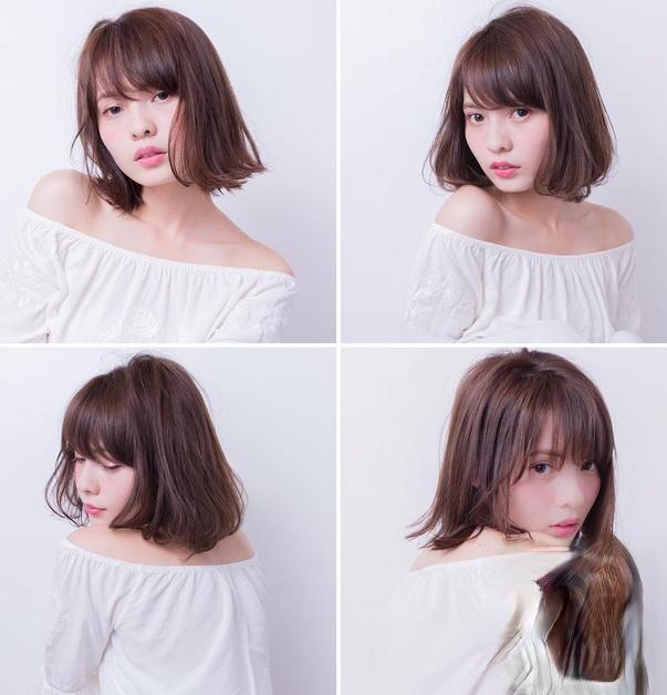 轻熟女时尚短发发型 流行女生气质短发图片大全
