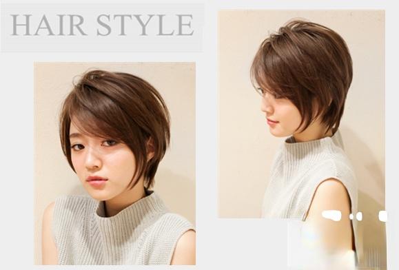 超美短发设计推荐 短发女生尽显气质轻时尚