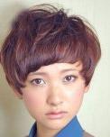 方脸 瓜子脸菱形脸适合的短发发型设计
