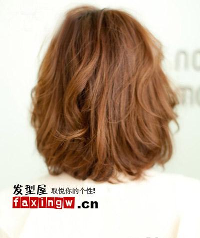 方脸 瓜子脸菱形脸适合的短发发型设计(4)