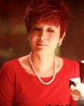 《女人帮》蒋雯丽百搭红色短发时尚帅气逼人