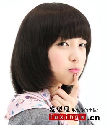 刘海/想要让自己看起来更年轻更具活力那一款齐刘海短发是你最佳的...