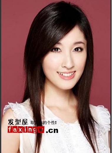 杨颖素颜妆容艺术照