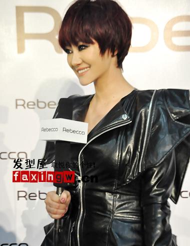 马伊俐郁可唯为你发型减龄短发蘑菇头(3)图片