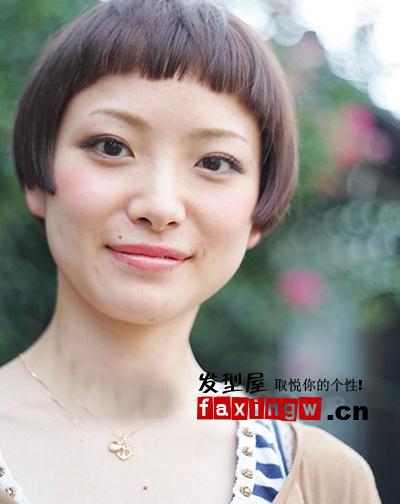 中性风潮流感短发发型 成熟女性也适合(2)图片