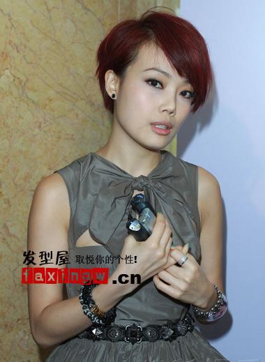 十月女明星最新潮流短发发型(3)图片