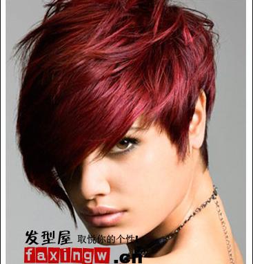 【图】时尚前沿 帅气沙宣短发(6)_短发发型图片_发藏网图片