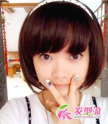 2015年最流行发型 俏丽短发惹人爱(2)