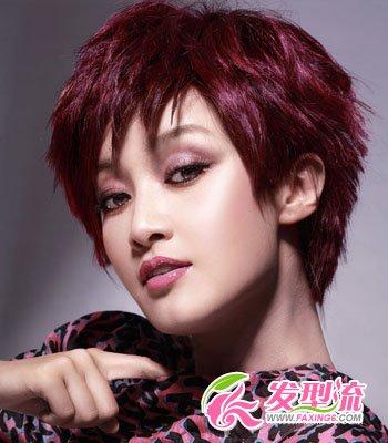 蘑菇头短发发型图片 引领时尚风(2)