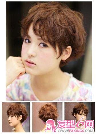 【图】清新短发 打造纯真甜美个性_短发发型_发藏网