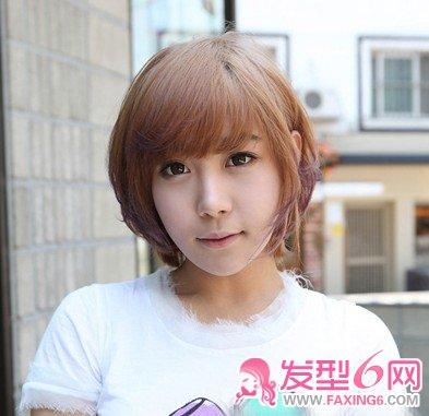 【图】韩国女生短发 夏天清爽更有型_短发发型_发藏网