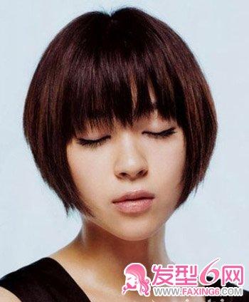 日本女星演绎可爱减龄短发造型