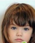 儿童发型扎法   欧美流行儿童发型图片