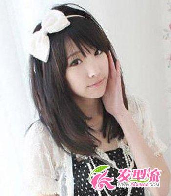 小学生发型图片 清纯可爱(3)图片
