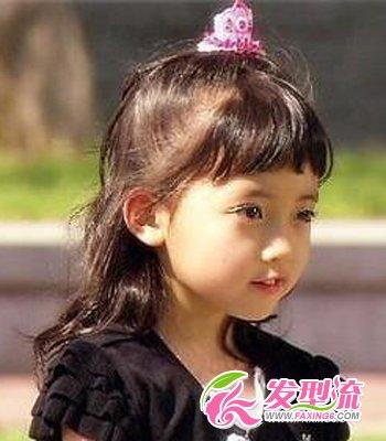 小学生发型图片 清纯可爱(3)