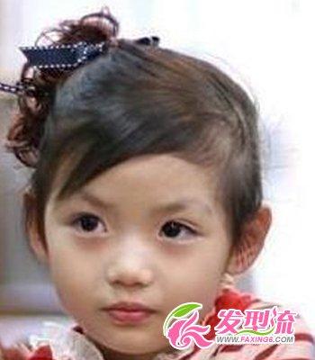 小学生发型图片 清纯可爱(5)