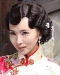 旗袍发型图片 中韩女星各具韵味