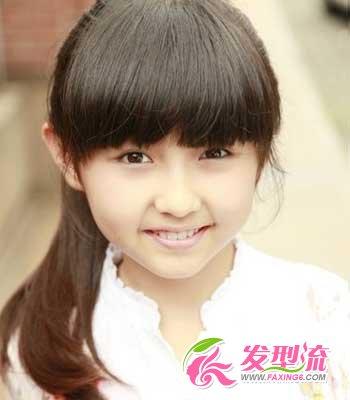 儿童时尚发型视频 秀出小女生纯真个性(3)