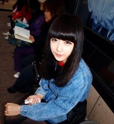 齐刘海发型 你就是下一个百变之王(3)图片