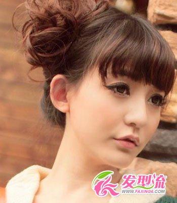 2015齐刘海发型图片 明星大pk(2)图片