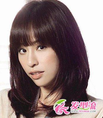 2015齐刘海发型图片 明星大pk(5)图片