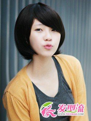 【图】韩国短发发型 韩国女生短发发型(3)