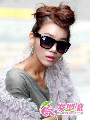 韩国时尚发型 韩国女生发型(4)图片
