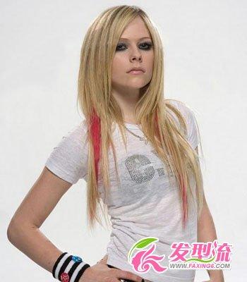 艾薇儿加盟江苏跨年 最流行的发型图片 4图片