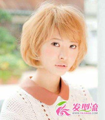 中短发发型图片 日本最具人气中短发发型(3)
