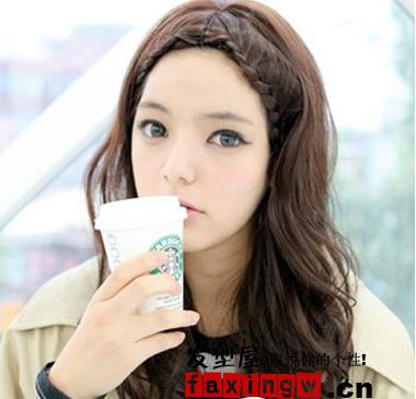 看韩国女生如何驾驭冬季发型(4)图片