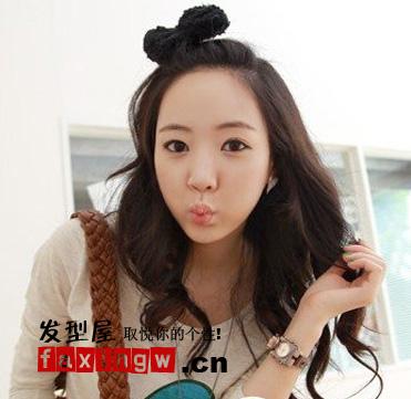 韩式扎发发型设计图片(3)图片